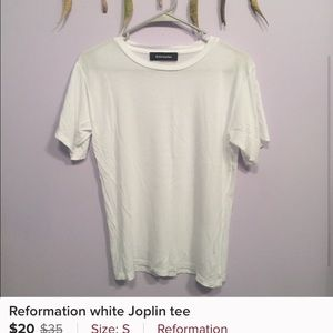 Reformation t shirt